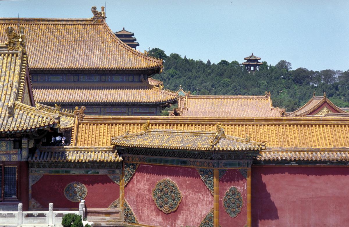 Peking Fotograaf Dirk Verwoerd Reis En Stockfotografie